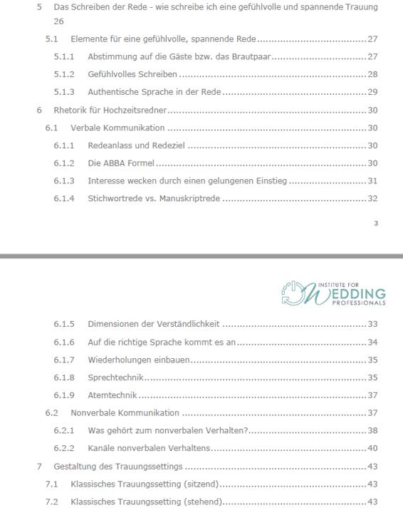 IFWP Hochzeitsredner | Freie Trauung | Online Kurs